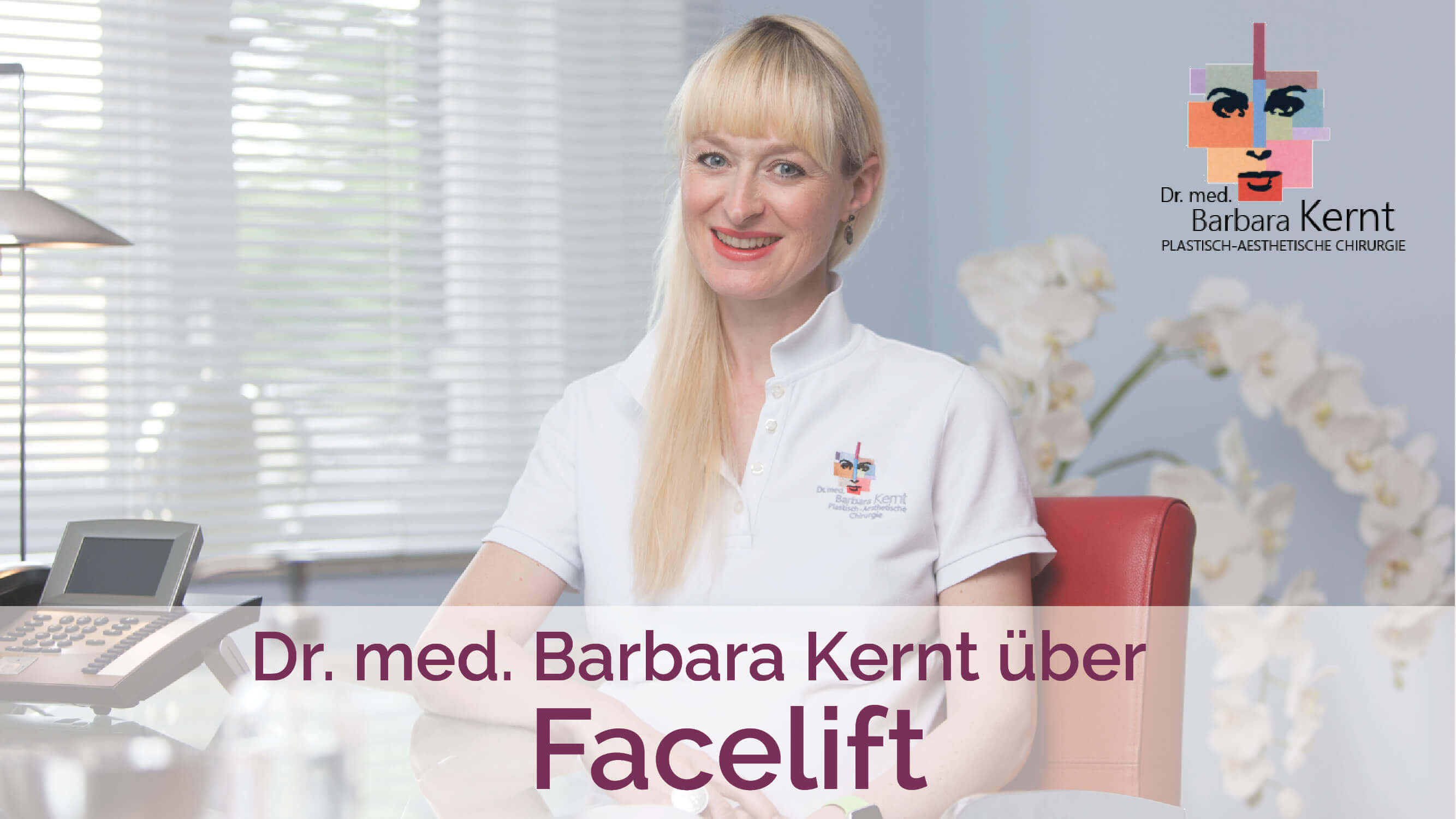 Facelift München Video-Interview Dr. Barbara Kernt